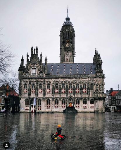 Afbeelding #000 voor het verhaal Na de regen kwam de leegte: Middelburg op Instagram, februari-maart 2020