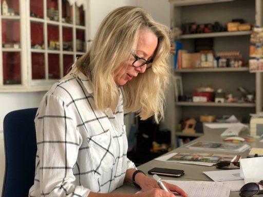 Afbeelding #003 voor het verhaal Net even anders: in de studio van Anne Breel