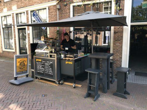 Afbeelding #002 voor het verhaal Nieuw bij Stadsbrouwerij Middelburg: Primi Popup Catering