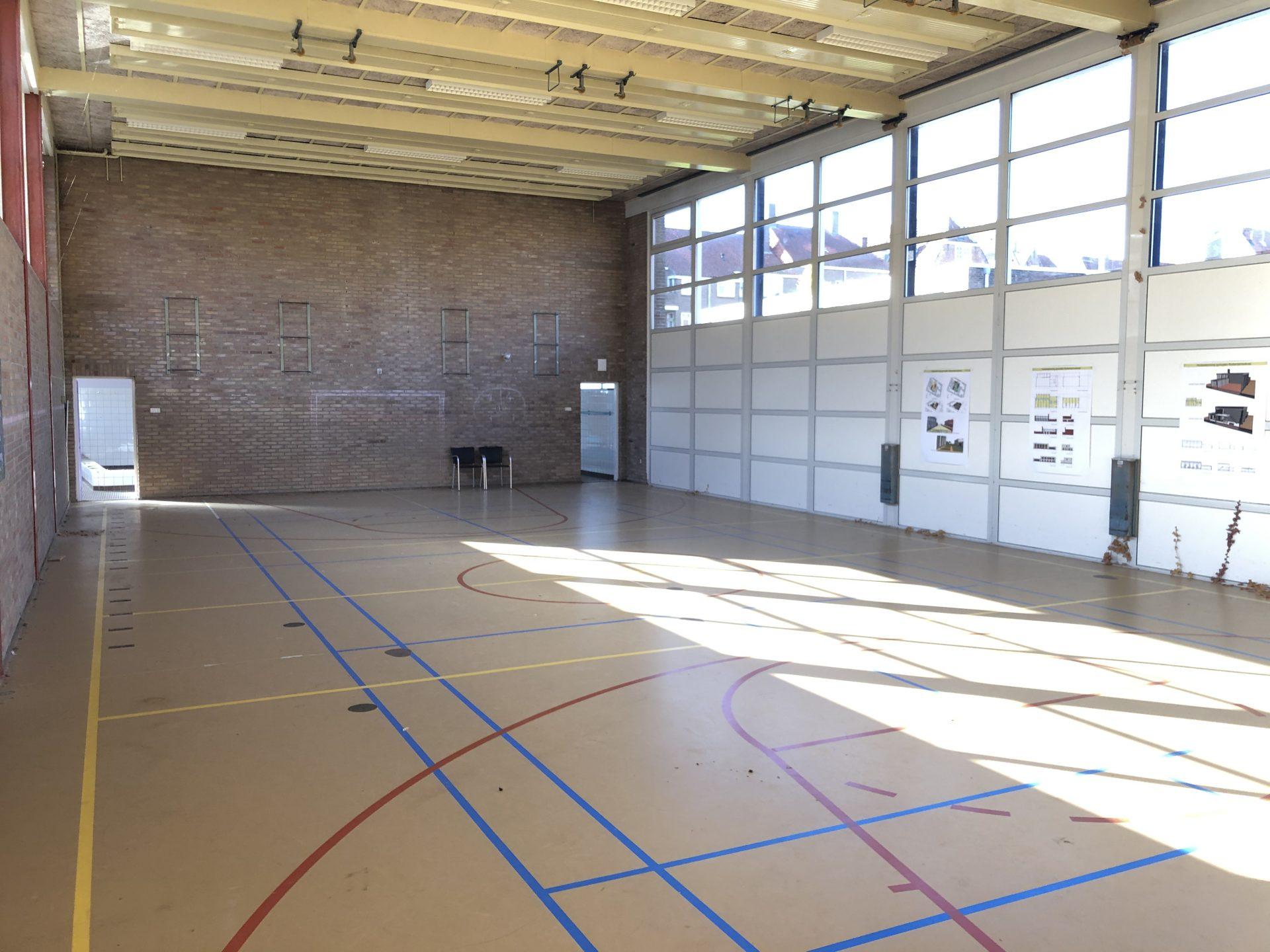 Afbeelding #000 voor het verhaal Nieuwbouw Hof van Oost-Indië deel 1: de laatste gymzaalglimpen