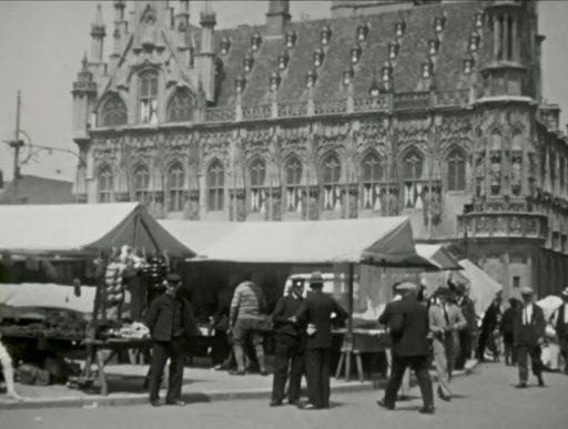 Afbeelding #000 voor het verhaal Nieuwe videobeelden van Middelburg in 1930