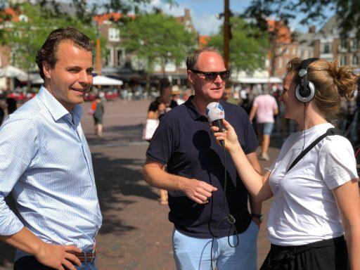 Afbeelding #001 voor het verhaal Nieuws en Co live vanaf de Markt in Middelburg