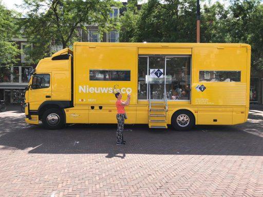 Afbeelding #004 voor het verhaal Nieuws en Co live vanaf de Markt in Middelburg