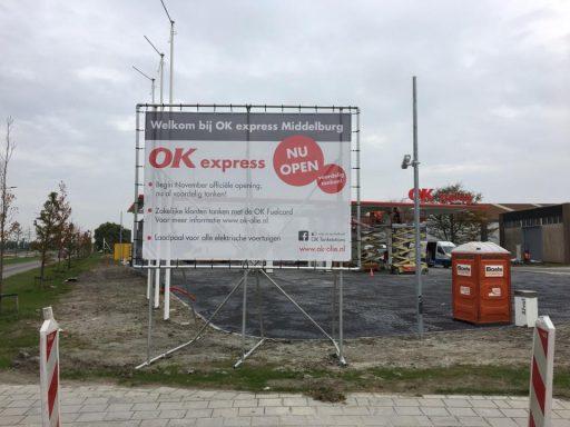 Afbeelding #000 voor het verhaal OK Tankstation Middelburg in bedrijf