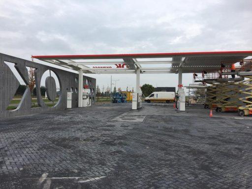 Afbeelding #001 voor het verhaal OK Tankstation Middelburg in bedrijf
