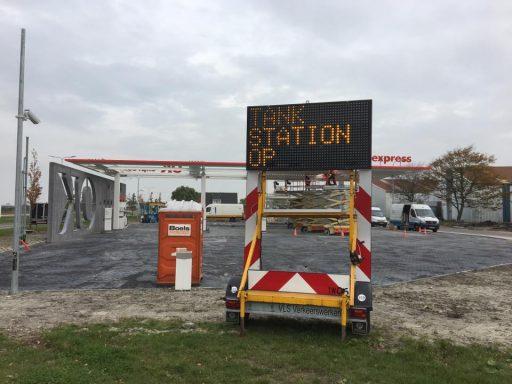 Afbeelding #002 voor het verhaal OK Tankstation Middelburg in bedrijf