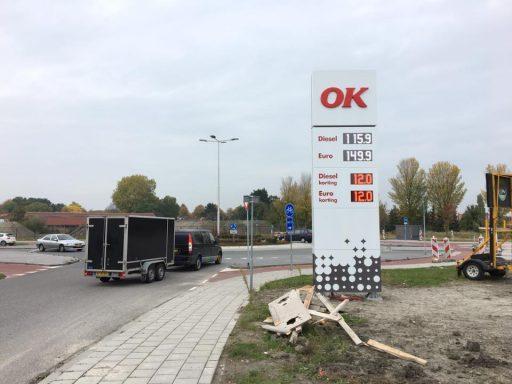 Afbeelding #003 voor het verhaal OK Tankstation Middelburg in bedrijf