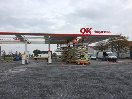Afbeelding #004 voor het verhaal OK Tankstation Middelburg in bedrijf