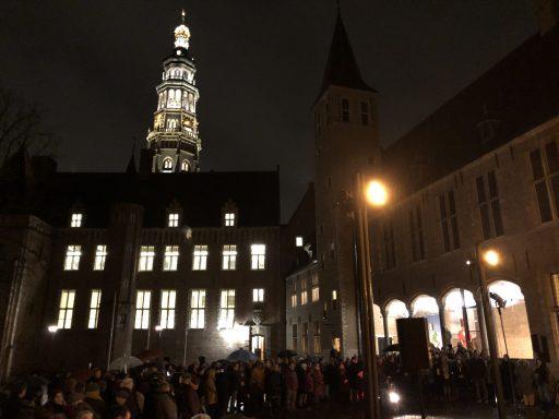 Afbeelding #000 voor het verhaal Onthulling Holocaustmonument Levenslicht in Middelburg