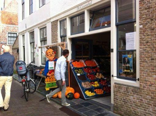 Afbeelding #001 voor het verhaal Op bezoek bij de groentehal in de Spanjaardstraat