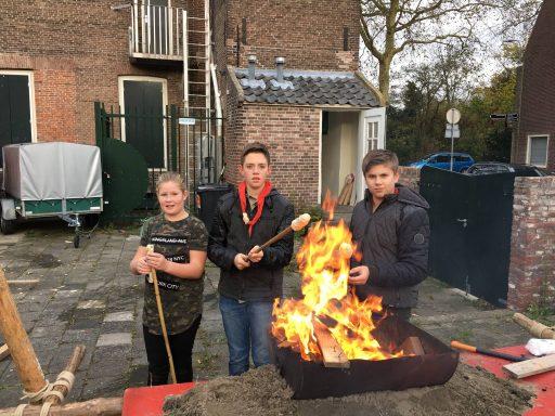 Afbeelding #001 voor het verhaal Op bezoek bij de Scouting Berdenis van Berlekomgroep in Middelburg