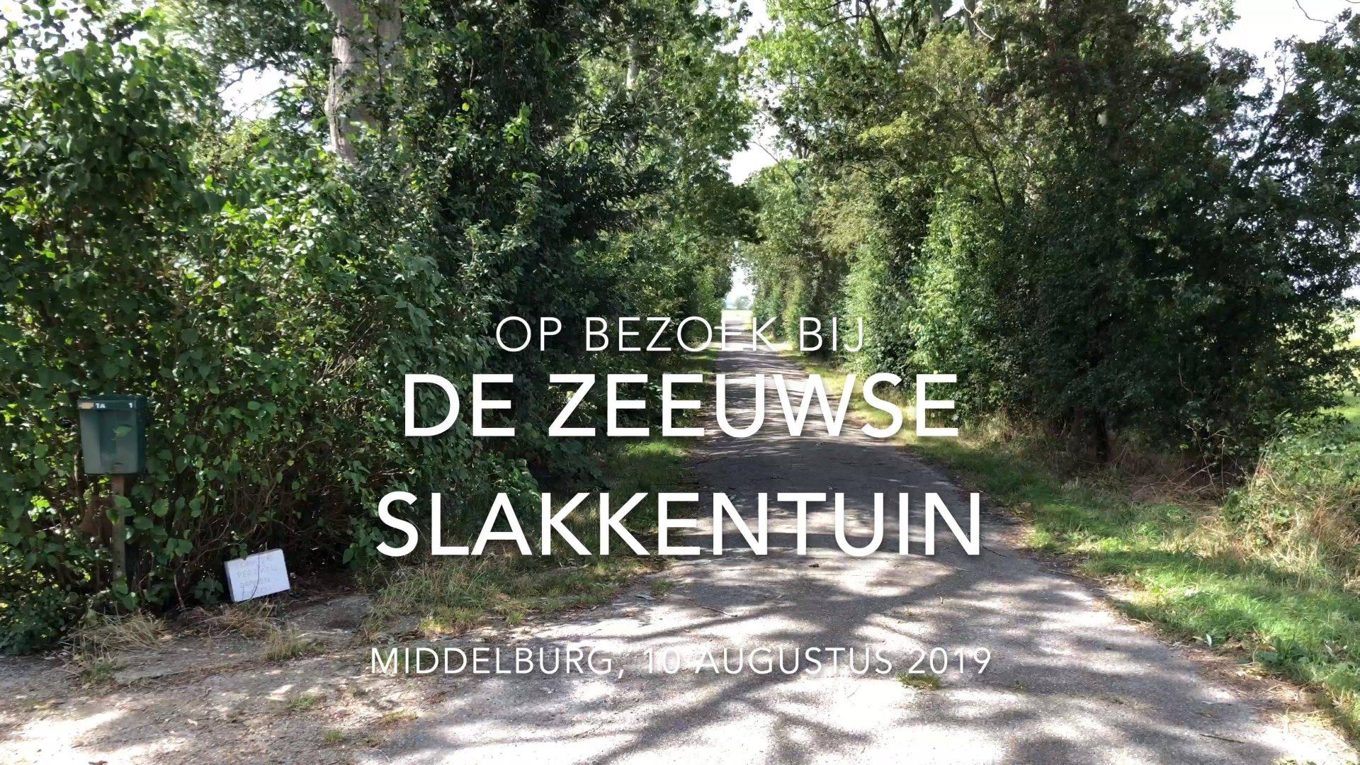 Afbeelding #000 voor het verhaal Op bezoek bij De Zeeuwse Slakkentuin in Middelburg