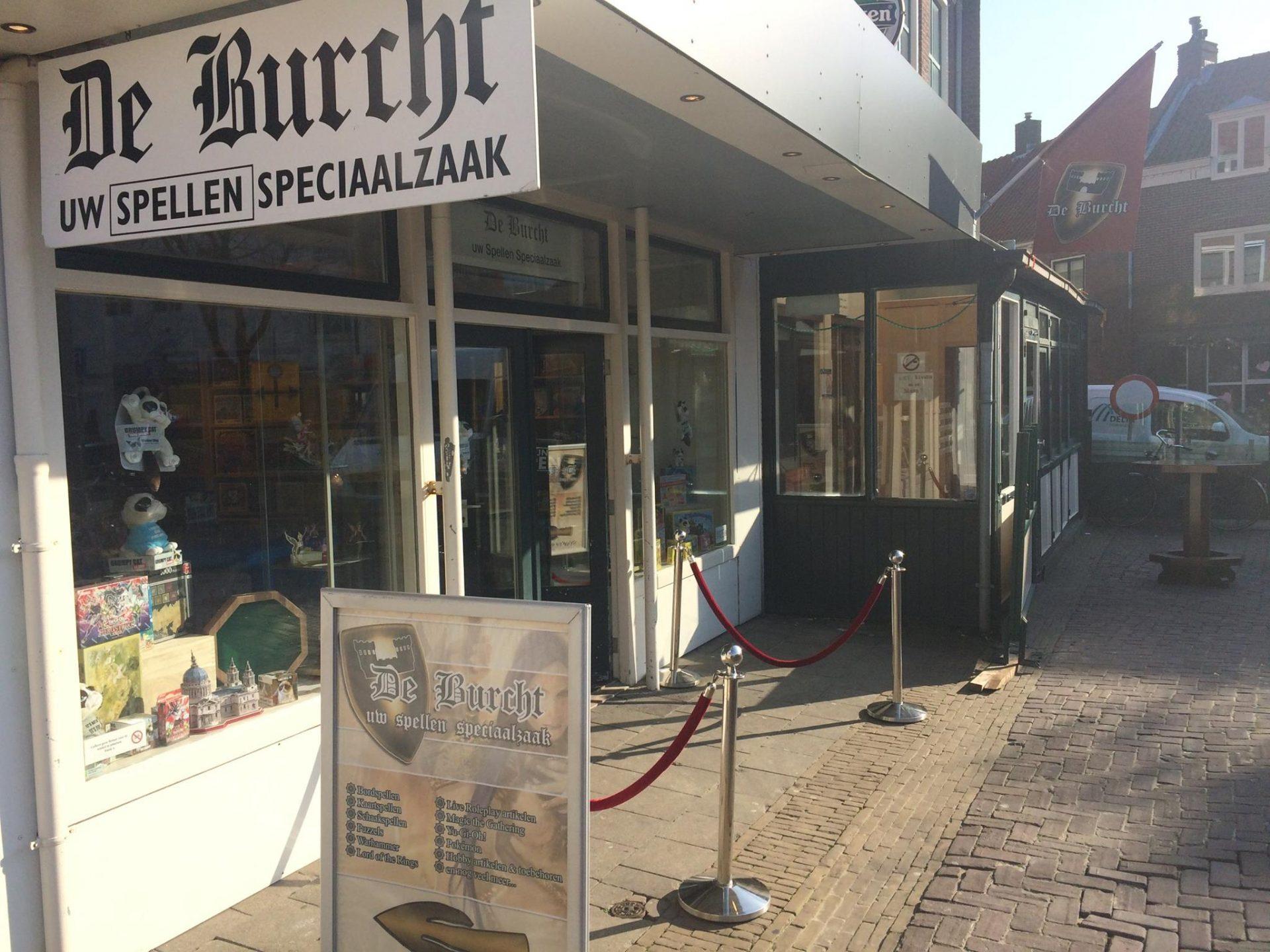 Afbeelding #000 voor het verhaal Op bezoek bij spellenwinkel De Burcht