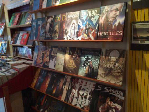 Afbeelding #003 voor het verhaal Op bezoek bij stripwinkel Perron 2