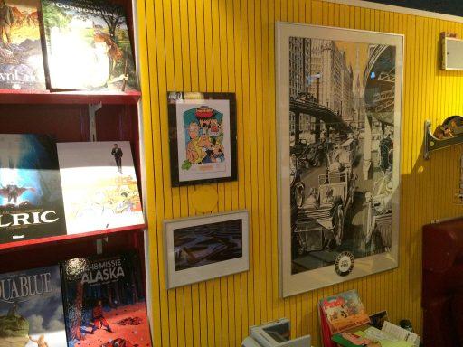 Afbeelding #004 voor het verhaal Op bezoek bij stripwinkel Perron 2