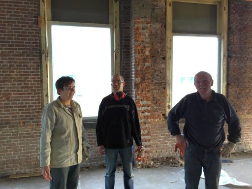 Afbeelding #001 voor het verhaal Op bezoek bij…het toekomstige Hotel & Brasserie Loskade 45