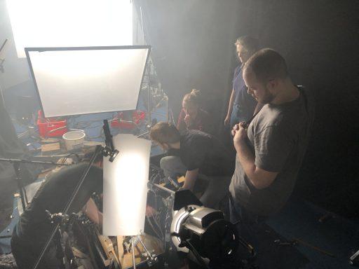 Afbeelding #004 voor het verhaal Op de filmset van 'Grit', de korte film van Matthias Hoekman