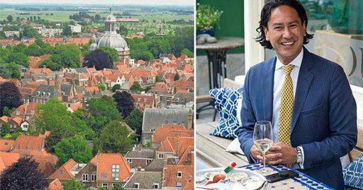 Afbeelding #000 voor het verhaal Op vakantie met burgemeester Bergmann in Middelburg