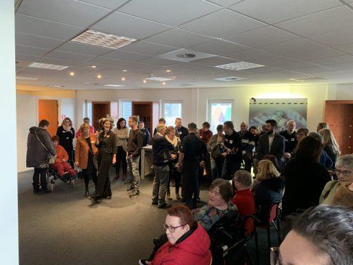 Afbeelding #002 voor het verhaal Opening werklocatie Tante Amalia bij Weststrate in Middelburg