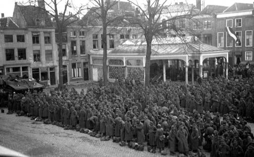 Afbeelding #000 voor het verhaal Opnamen speelfilm Slag om de Schelde omgeving Hofplein Middelburg