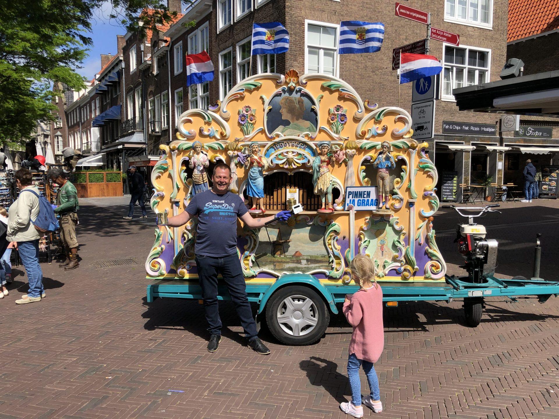 Afbeelding #000 voor het verhaal Orgelman Peter Jan Dekker terug in Middelburg
