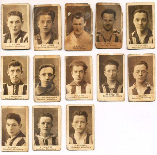 Afbeelding #000 voor het verhaal Oude voetbalplaatjes