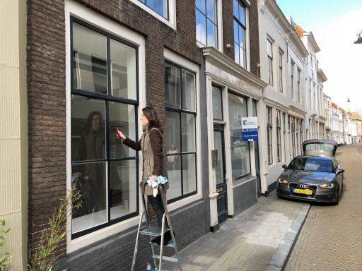 Afbeelding #002 voor het verhaal Oude winkels worden appartementen, ook in de Korte Noordstraat