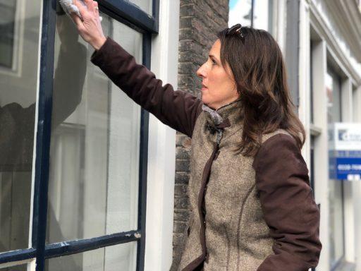 Afbeelding #003 voor het verhaal Oude winkels worden appartementen, ook in de Korte Noordstraat