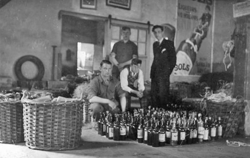 Afbeelding #001 voor het verhaal Over de verdwenen bierbrouwerij en likeurstokerij onder de Lange Jan in Middelburg