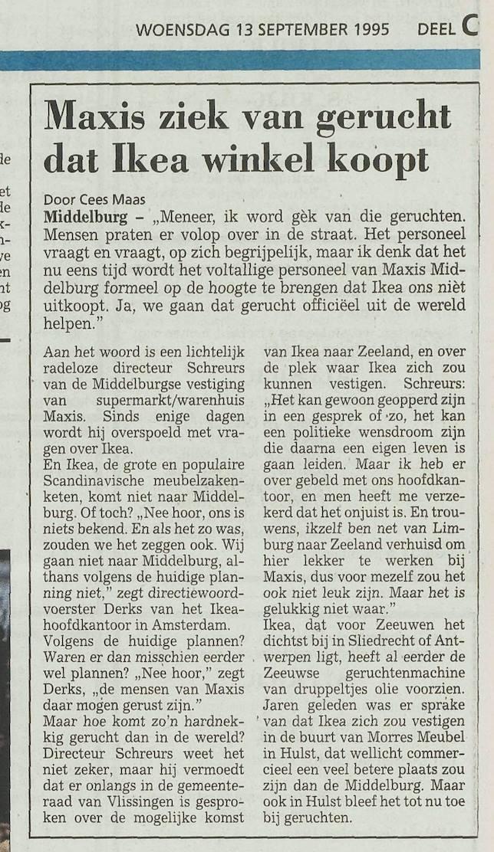 Afbeelding #001 voor het verhaal Over IKEA, Middelburg en 1 april