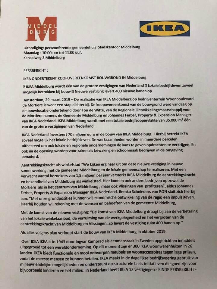 Afbeelding #002 voor het verhaal Over IKEA, Middelburg en 1 april