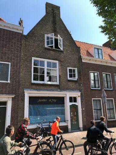 Afbeelding #003 voor het verhaal Pand Juwelier de Jong in de Sint Pieterstraat wordt woonhuis