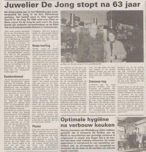 Afbeelding #004 voor het verhaal Pand Juwelier de Jong in de Sint Pieterstraat wordt woonhuis