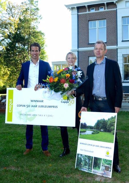 Afbeelding #000 voor het verhaal Park Toorenvliedt wint de Copijn Jubileumprijs
