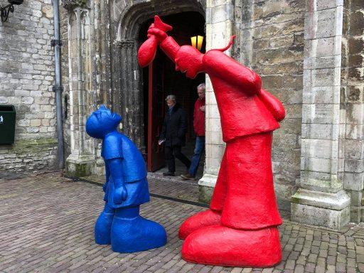 Afbeelding #000 voor het verhaal Pasen 2018: op bezoek bij Open Atelier Veere...in Middelburg
