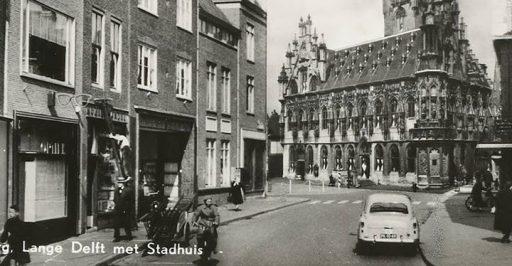 Afbeelding #000 voor het verhaal Photoshoppend Middelburg, jaren 50