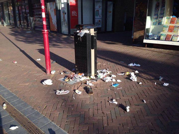 Afbeelding #000 voor het verhaal Pilot: vier maanden vegen op zondag in Middelburg