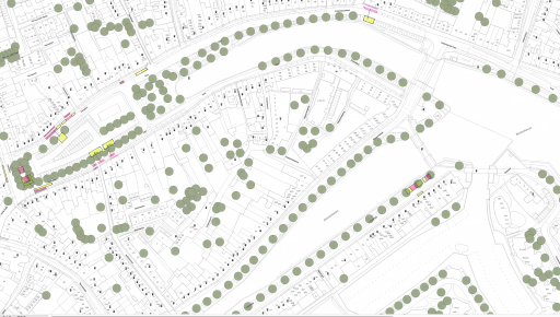 Afbeelding #000 voor het verhaal Plattegronden: de terrassen van Horeca Middelburg vanaf 1 juni 2020
