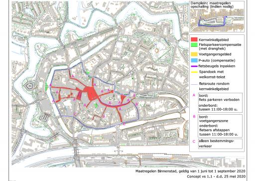 Afbeelding #004 voor het verhaal Plattegronden: de terrassen van Horeca Middelburg vanaf 1 juni 2020