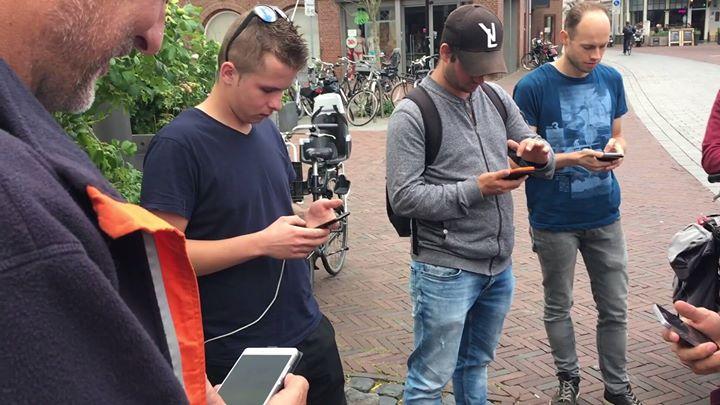 Afbeelding #000 voor het verhaal Pokemon Go Pottenmarkt Middelburg, 25 juli 2017