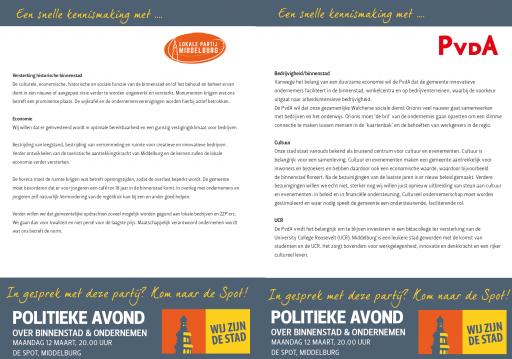 Afbeelding #002 voor het verhaal Politieke avond 12 maart Binnenstad en ondernemen: meer standpunten