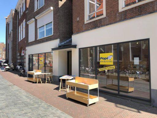 Afbeelding #000 voor het verhaal Pop-up Bookstore geopend in de Gravenstraat in Middelburg