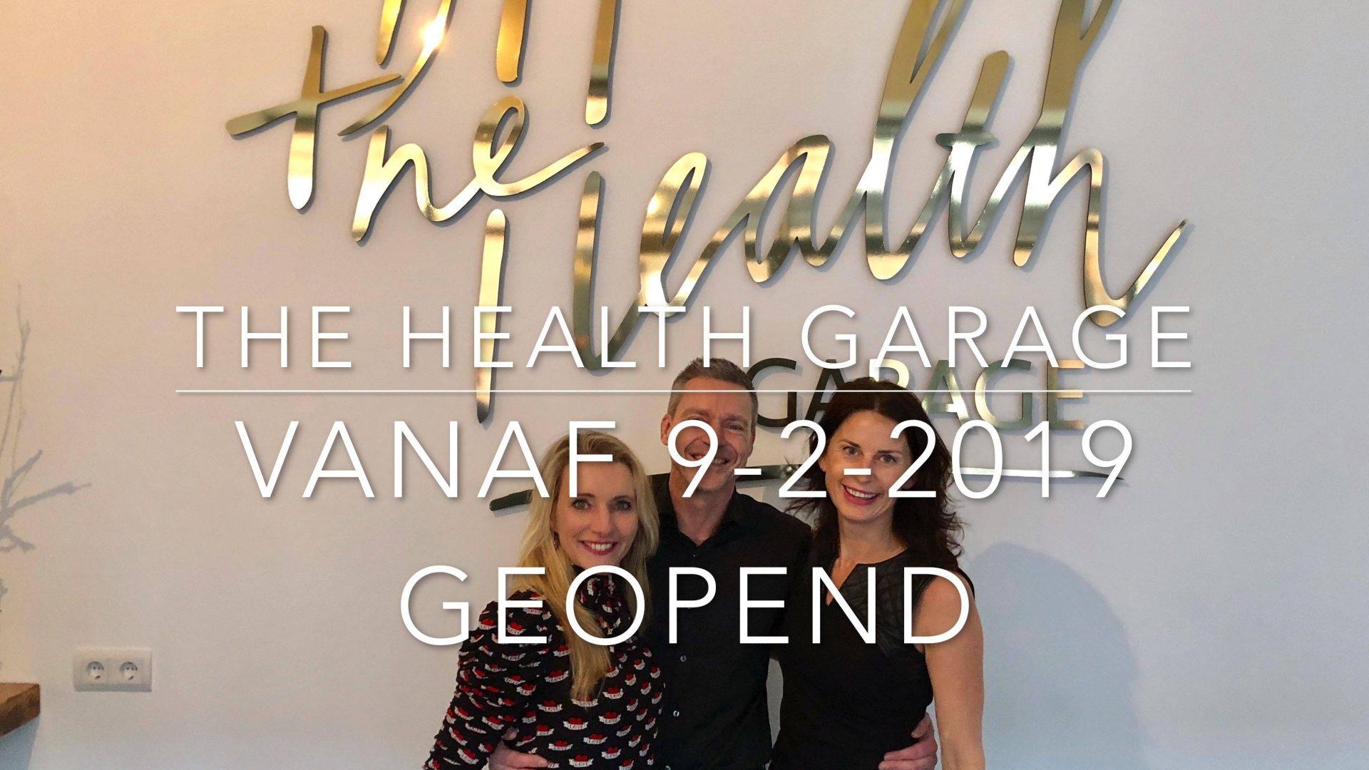 Afbeelding #000 voor het verhaal Preview: de opening van The Health Garage in Middelburg