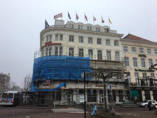 Afbeelding #000 voor het verhaal Renovatie Hotel Du Commerce van start gegaan