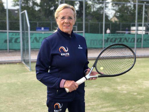 Afbeelding #000 voor het verhaal Ria van der Meijden naar het WK Tennis voor supersenioren