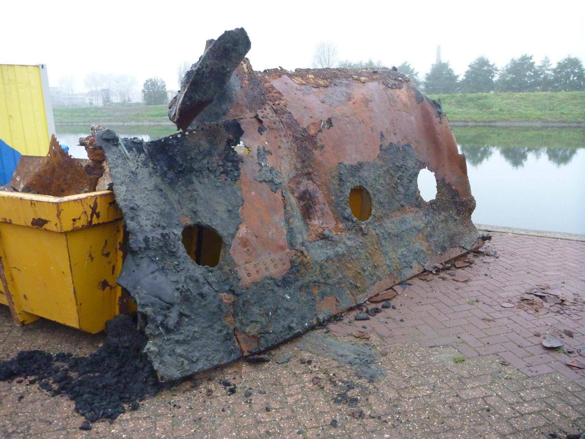 Afbeelding #001 voor het verhaal Rijkswaterstaat: de sanering van het Kanaal door Walcheren