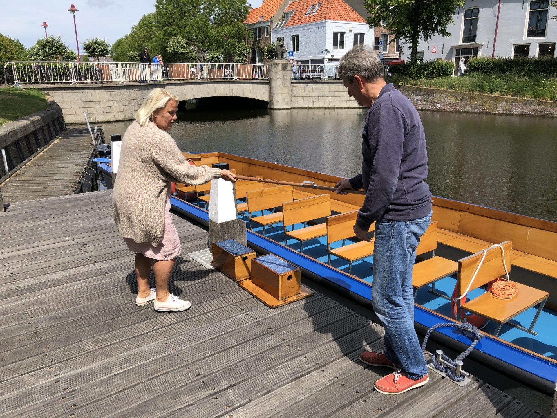 Afbeelding #001 voor het verhaal Rondvaart Middelburg: in afwachting van de dingen die komen gaan
