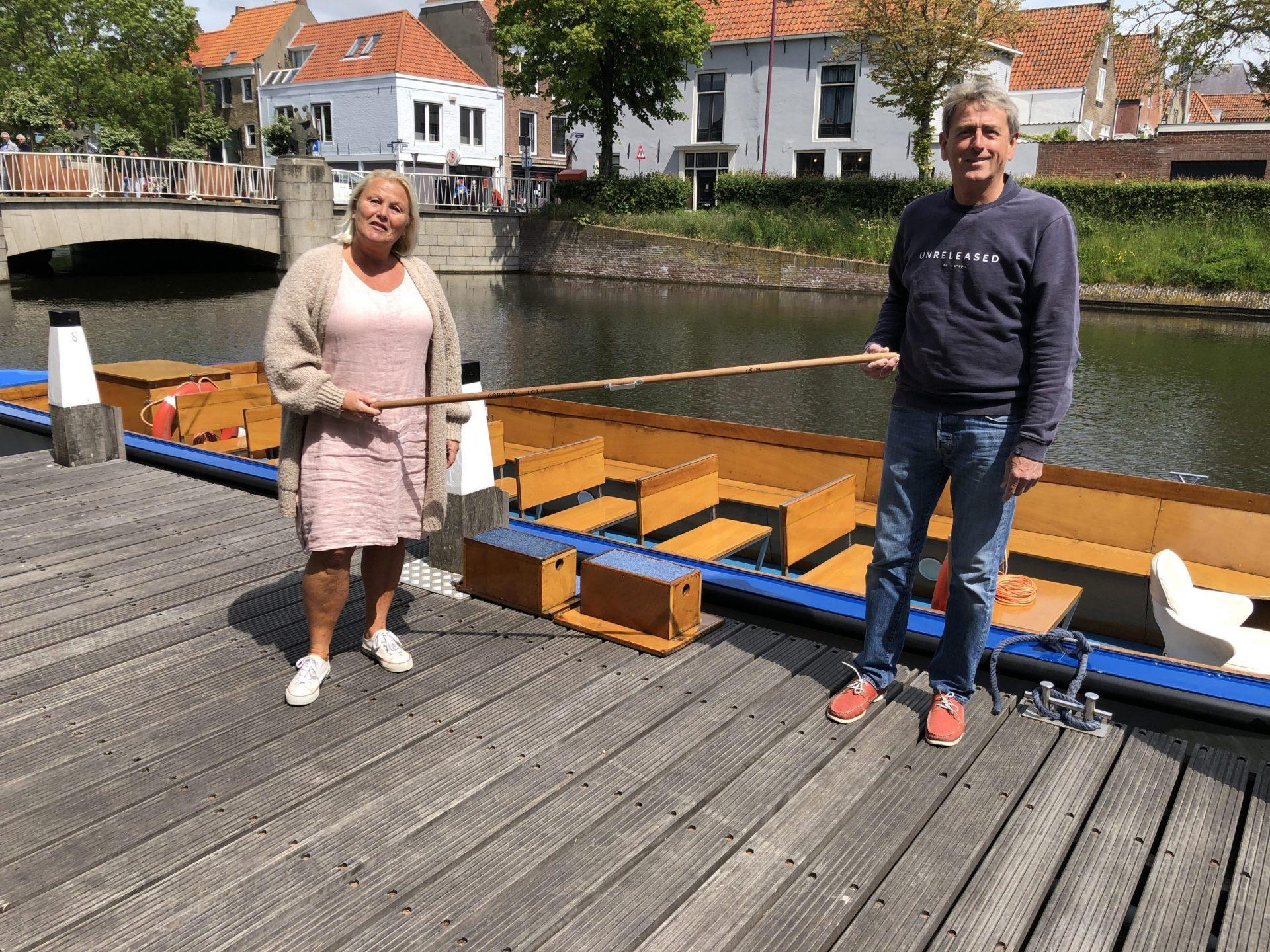 Afbeelding #002 voor het verhaal Rondvaart Middelburg: in afwachting van de dingen die komen gaan