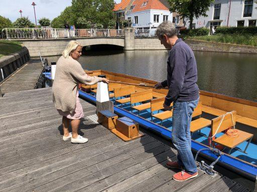 Afbeelding #000 voor het verhaal Rondvaart Middelburg weer van start, Skatepark Veerse Poort heropend