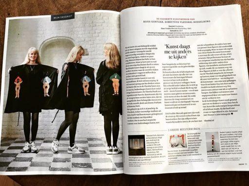 Afbeelding #000 voor het verhaal Roos Gortzak over haar favoriete kunst in Spoor Magazine